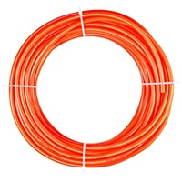 1/4 inch airline for breather kit. Orange colour - sold per metre
