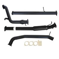 "FORD RANGER PX 2.2L 9/2011 - 9/2016 3"" TURBO BACK CARBON OFFROAD EXHAUST WITH HOTDOG NO CAT"