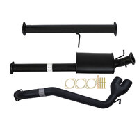 "FORD RANGER PX 3.2L 10/2016>3"" # DPF # BACK CARBON OFFROAD EXHAUST MUFFLER ONLY SIDE EXIT TAILPIPE"
