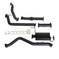 "HOLDEN COLORADO RC 3.0L 4JJ1-TC 5/2010 - 5/2012  3"" TURBO BACK CARBON OFFROAD EXHAUST WITH MUFFLER NO CAT"