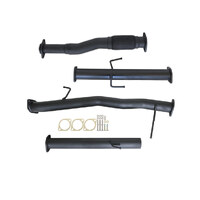 "MITSUBISHI TRITON MQ, MR 2.4L 4N15 1/2015>3"" # DPF # BACK CARBON OFFROAD EXHAUST WITH PIPE ONLY"