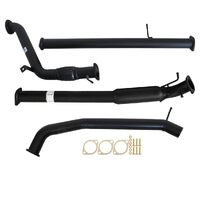 "MAZDA BT-50 UP, UR 3.2L 2011 - 9/2016 3"" TURBO BACK CARBON OFFROAD EXHAUST WITH HOTDOG NO CAT"