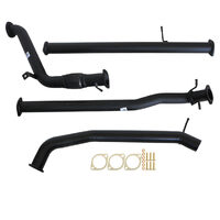 "MAZDA BT-50 UP, UR 3.2L 2011 - 9/2016 3"" TURBO BACK CARBON OFFROAD EXHAUST WITH PIPE ONLY"