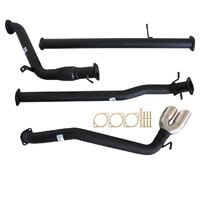 "MAZDA BT-50 UP| UR 9/2011 - 9/2016 3"" TURBO BACK CARBON OFFROAD EXHAUST PIPE ONLY SIDE EXIT TAILPIPE"