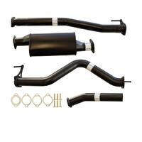 "NISSAN NAVARA D23 2.3L YS23DDTT 2015>3"" #DPF# BACK CARBON OFFROAD EXHAUST WITH MUFFLER ONLY"