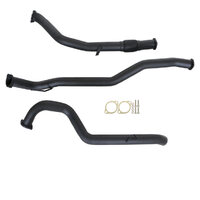 "NISSAN PATROL GQ Y60 2.8L 1997 -2000 WAGON 3"" TURBO BACK CARBON OFFROAD EXHAUST WITH PIPE ONLY"