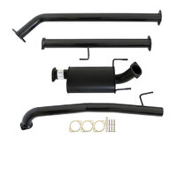 "TOYOTA HILUX GUN126/136R 2.8L 1GD-FTV 2015>3""  #DPF# BACK CARBON OFFROAD EXHAUST WITH MUFFLER ONLY"
