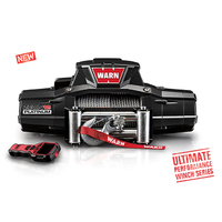 Warn Zeon Platinum-S 12,000lb(5443kg) 12v 4x4 Winch Spydura® Pro synthetic rope