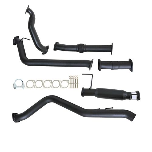 "HOLDEN COLORADO RC 3.0L 4JJ1-TC 2008 - 2010  3"" TURBO BACK CARBON OFFROAD EXHAUST HOTDOG & NO CAT"