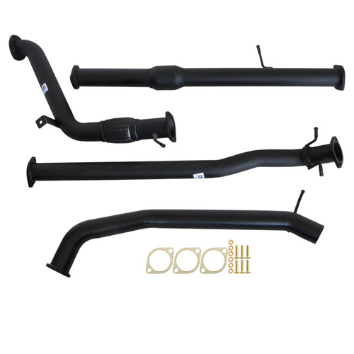 "MAZDA BT-50 UP| UR 3.2L 2011 - 9/2016 3"" TURBO BACK CARBON OFFROAD EXHAUST WITH CAT NO MUFFLER"
