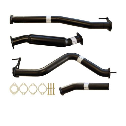 "NISSAN NAVARA D23 2.3L YS23DDTT 2015>3"" #DPF# BACK CARBON OFFROAD EXHAUST WITH HOTDOG ONLY"