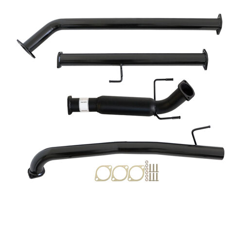 "TOYOTA HILUX GUN126/136R 2.8L 1GD-FTV 2015>3""  #DPF# BACK CARBON OFFROAD EXHAUST WITH HOTDOG ONLY"